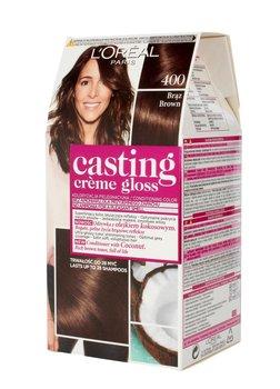 L'oreal Paris, Casting Creme Gloss, farba do włosów 400 Brąz-L'oreal Paris