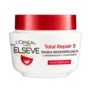 L'oreal Paris, Elseve Total Repair 5, maska z serum wypełniającym, 300 ml-L'oreal Paris