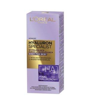 L'oreal Paris, Hyaluron Specialist, krem pod oczy wypełniająca kuracja nawilżająca, 15 ml-L'oreal Paris