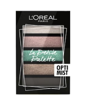 L'oreal Paris, La Petite Palette, paleta cieni do powiek 03 Optimist, 12 g - L'oreal Paris