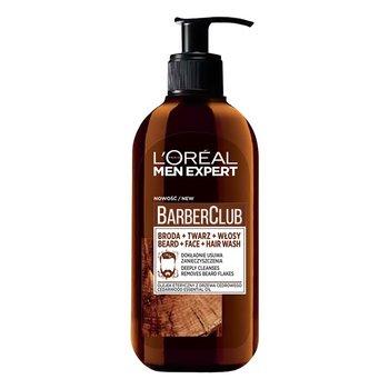 L'oreal Paris, Men Expert Barber Club, żel do mycia twarzy, brody i włosów, 200 ml-L'oreal Paris