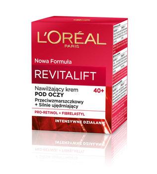 L'oreal Paris, Revitalift 40+, nawilżający krem pod oczy przeciwzmarszczkowy i silnie ujędrniający, 15 ml-L'oreal Paris