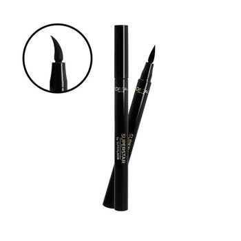 L'oreal Paris, Superstar by Superliner, eyeliner czarny, 7 g - L'oreal Paris