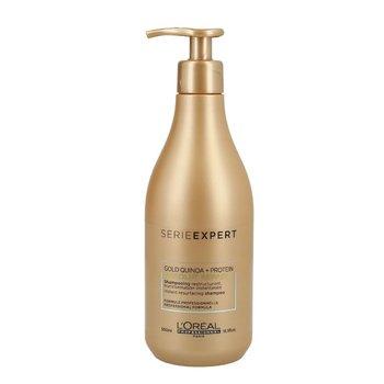 L'oreal Professionnel, Serie Expert Absolut Repair Gold Quinoa + Protein, regenerujący szampon do włosów zniszczonych i osłabionych, 500 ml-L'oreal Professionnel