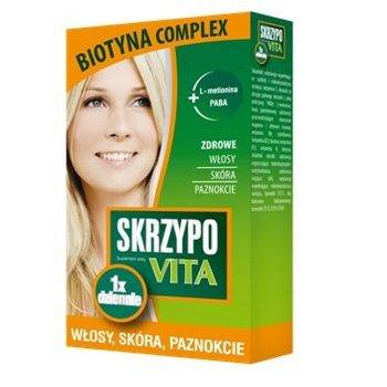 Labovital, skrzypovita + biotyna complex, 42 tabletki-Labovital