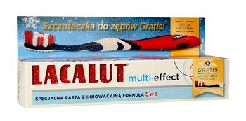 Lacalut, Multi-Effect, pasta do zębów 5w1, 75 ml + szczoteczka-Lacalut