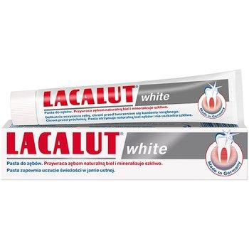 Lacalut, White, pasta do zębów przywracająca naturalną biel, 75 ml-Lacalut