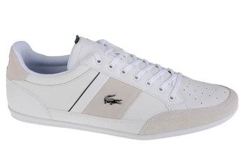 Lacoste Chaymon 741CMA00641R5, Męskie, buty sportowe, Biały-Lacoste