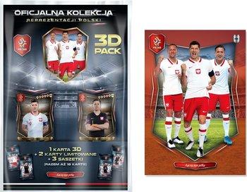 Łączy Nas Piłka Oficjalna Kolekcja Kart Reprezentacji Polski Multipack 3D PZPN