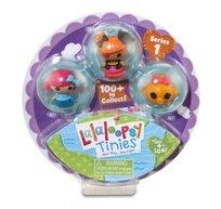Lalaloopsy Tinies, figurki Koralka Muszelka, Żagielka i rybka, zestaw