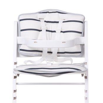 Lambda 2, Childhome, Ochraniacz/Poduszka do krzesełka, Jersey, Marine-Childhome