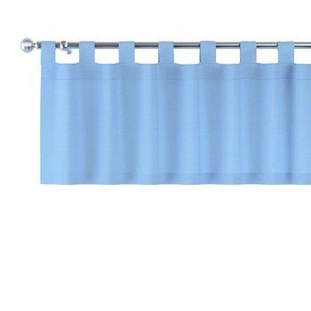 Lambrekin na szelkach, niebieski, 260 × 40 cm, Loneta-Dekoria