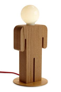 Lampa stołowa FURNIDE Sede Lapmboy, brązowa, 9 W-Furnide