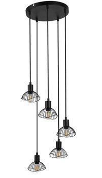 Lampa wisząca ACTIVEJET AJE-HOLLY 8 Black, 230 V -ActiveJet