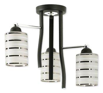 f0c4362b6d6 LAMPEX, Żyrandol Parker 3, biały, brązowy, 40x35 cm - Lampex | Sklep ...