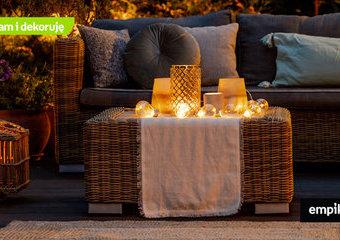 Lampiony i latarenki ogrodowe — co wybrać? Pomysły i inspiracje