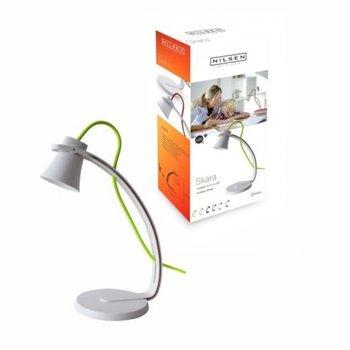Lampka biurkowa LED INQ Nilsen Skara PX005, biała, 3,2 W-INQ