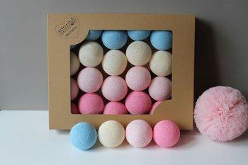 Lampki Cotton Balls Baby Love 35 szt.-MIA home