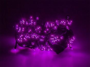 Lampki ozdobne choinkowe fioletowe Led 200szt 16m-Xtreme