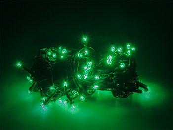 Lampki ozdobne choinkowe zielone Led 300szt 24m-Xtreme