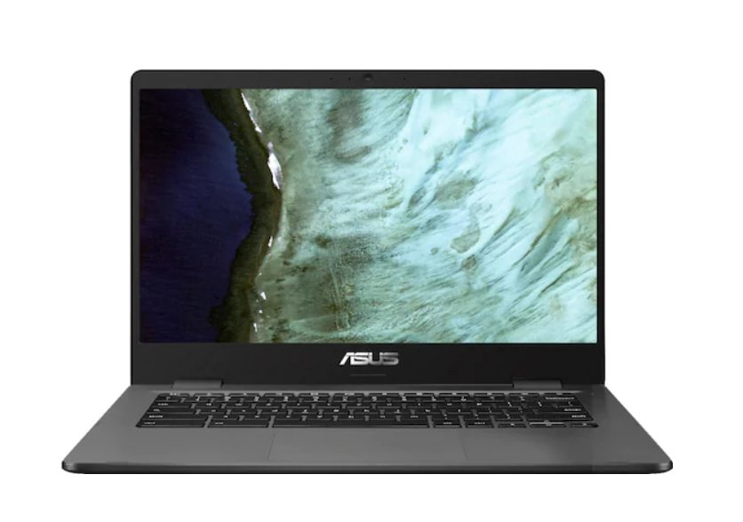 "Laptop Asus C423NA-BCLN5 14 "" 4 GB / 32 GB szary"