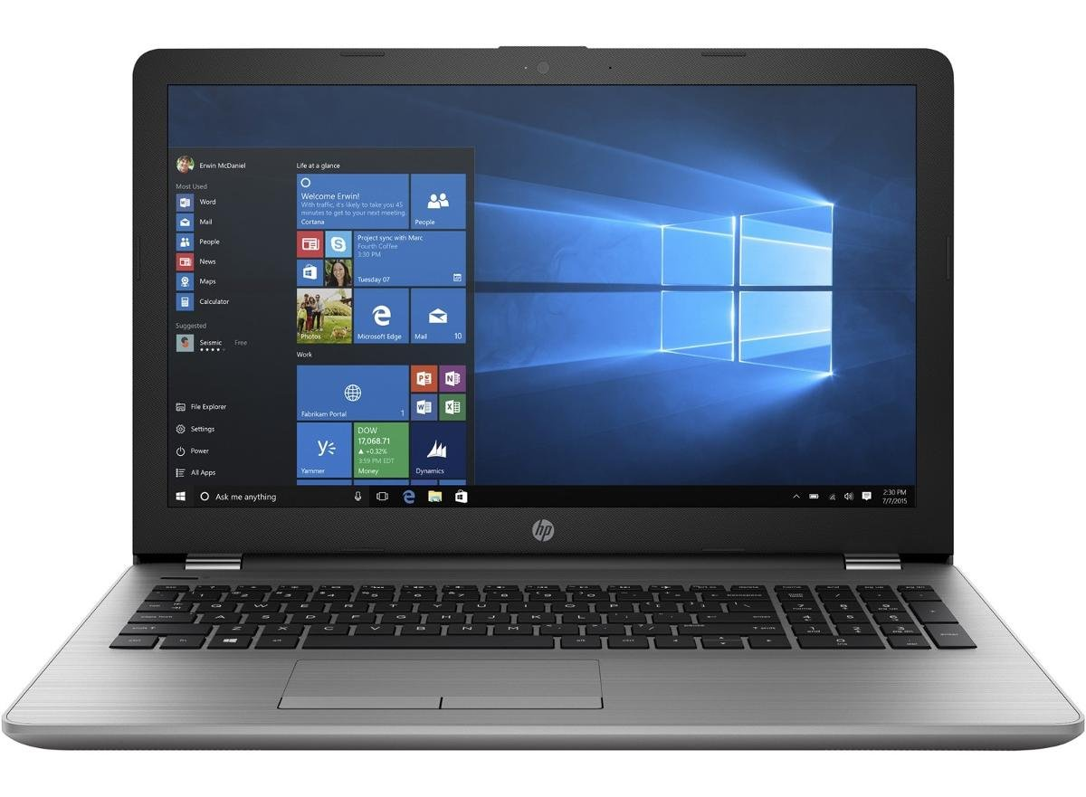 "Laptop HP 250 G6 4LS34ES, i3-7020U, 15.6"" HD, 4 GB RAM, 256 GB SSD, Windows 10 Pro Edu"