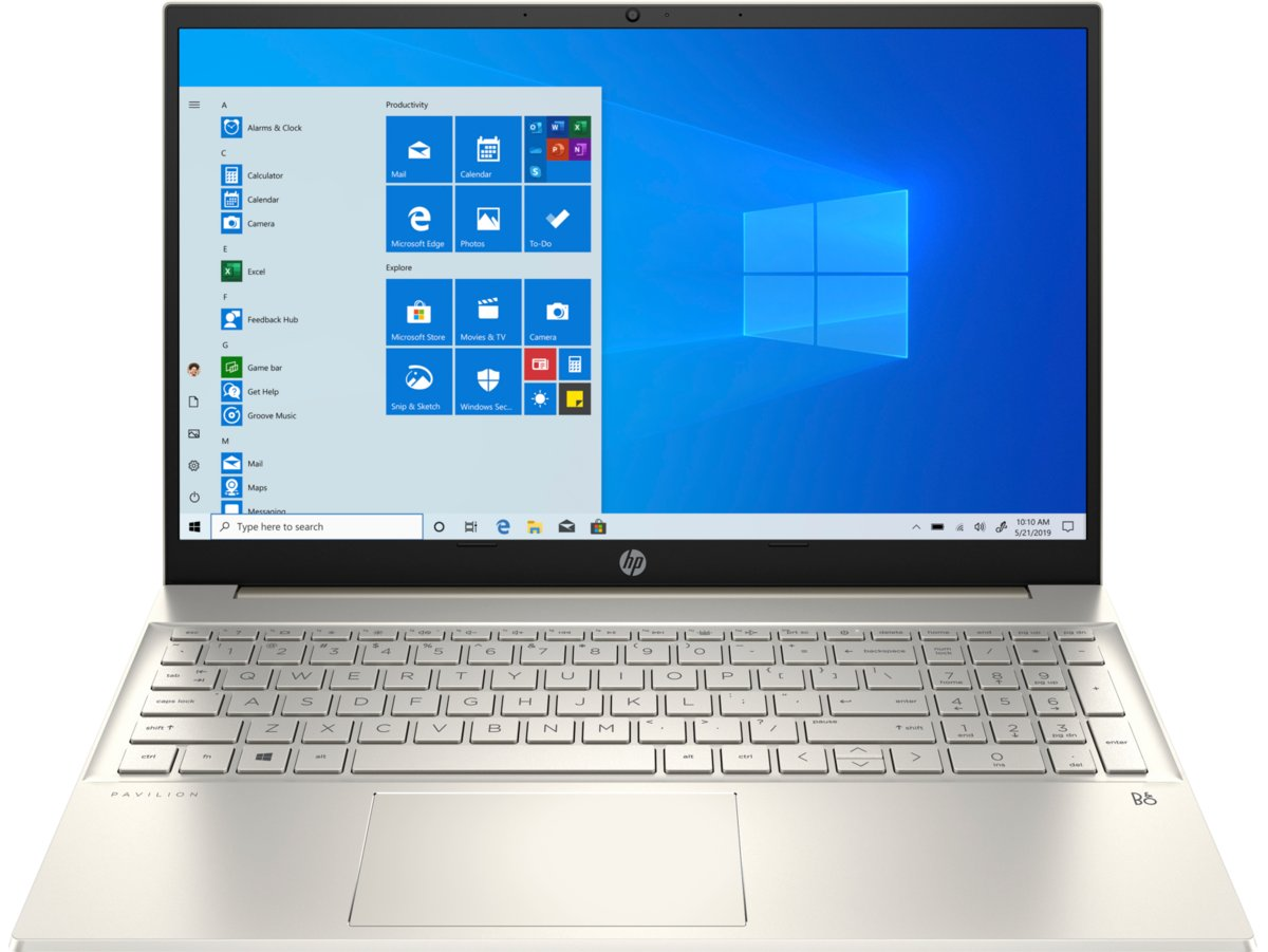 "Laptop HP Pavilion 15-eg0010nw, i5-1135G7, Int, 8 GB RAM, 15.6"", 512 GB SSD, Windows 10 Home"