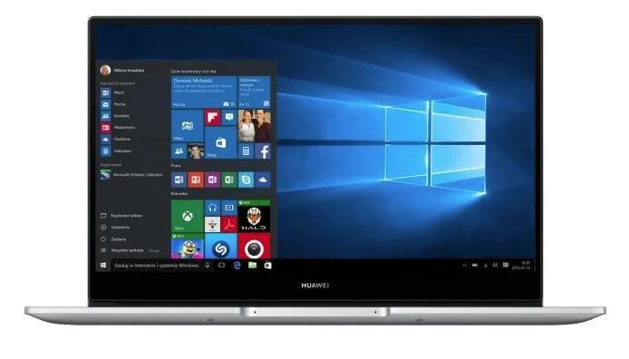 "Laptop HUAWEI Matebook D14, Ryzen 5 3500U, 8 GB RAM, 15.6"", 512 GB SSD, Windows 10 Home"
