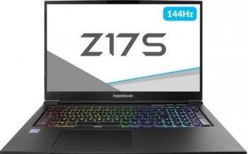 "Laptop HYPERBOOK Z17S, i7-9750H, RTX 2060, 16 GB RAM, 17.3"", 240 GB SSD, Windows 10-Hyperbook"