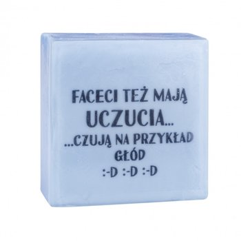 LaQ, Happy Soaps, mydełko glicerynowe SMS - Faceci Też Mają Uczucia 75g-LaQ