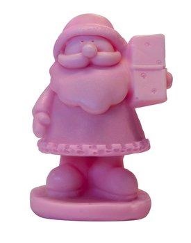 LaQ, Happy Soaps, naturalne mydło glicerynowe Mały Św. Mikołaj, 30 g-LaQ