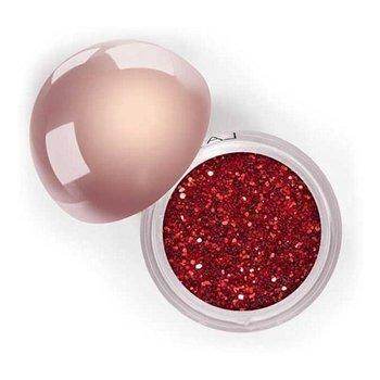 LASplash, Crystallized glitter, Sypki cień do powiek, czerwony, 3,5 g-Lasplash