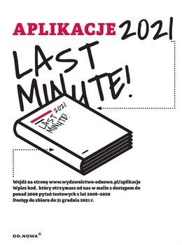 Last minute. Aplikacje 2021-Gąszcz Bogusław