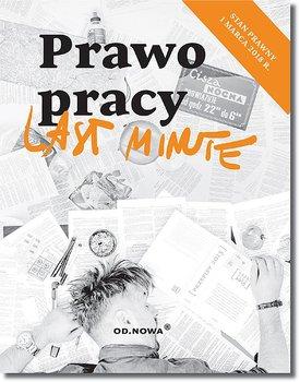 Last minute. Prawo pracy -Barański Michał, Torbus Urszula