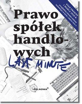 Last Minute. Prawo spółek handlowych-Daszczuk Paweł, Gąsior Magdalena