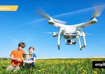 Latające zabawki dla dzieci – drony, latawce, helikoptery i samoloty