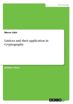 Lattices and their application in Cryptography-Cakir Merve