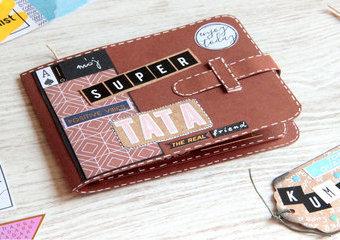 Laurka w formie portfela  - przypomnij Tacie, jak bardzo jest ci drogi.