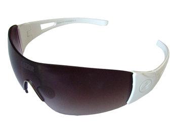 Lazar, Okulary, Magneto Gloss White (Smoke Gradient, Yellow-Blue Mirror, Clear)-Lazer