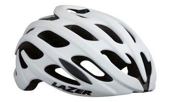 LAZER BLADE+ szosowy kask rowerowy Rollsys® biały połysk-Lazer