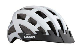 LAZER Compact kask rowerowy biały połysk-Lazer
