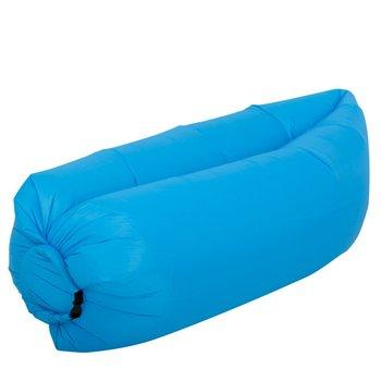 Lazy Bag SOFA materac LEŻAK na POWIETRZE niebieski