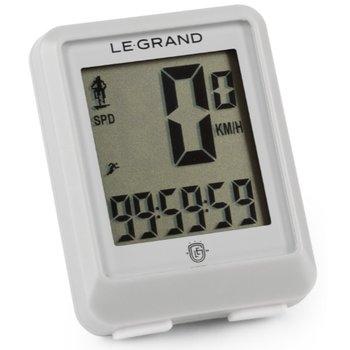 Le Grand, Licznik rowerowy, C11 przewodowy, szary-Le Grand