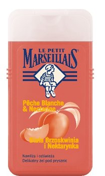 Le Petit Marseillais, żel pod prysznic, biała brzoskwinia i nektarynka, 250 ml-Le Petit Marseillais