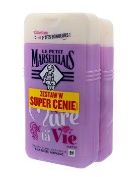 Le Petit Marseillais, żel pod prysznic Jeżyna, 2x250 ml-Le Petit Marseillais