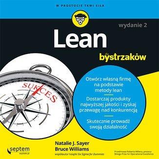 Lean dla bystrzaków-Sayer Natalie J., Williams Bruce