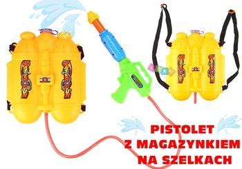 Lean Toys, pistolet na wodę z magazynkiem-Lean Toys