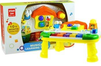 Lean Toys, zabawka interaktywna Domek z Pianinkiem-Lean Toys