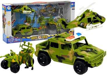 Lean Toys, zestaw Helikopter wojskowy-Lean Toys
