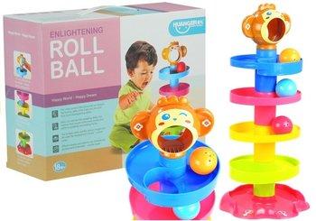 Lean Toys, zjeżdżalnia do piłek Labirynt-Lean Toys